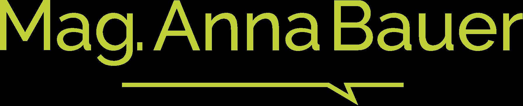mag anna bauer systemische beraterin systemische psychotherapeutin logo gruen